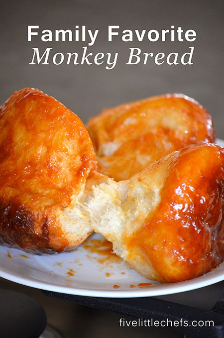 Super easy dump and go monkey bread recipe. This is one of our family favorite recipes we have been making for breakfast for generations!