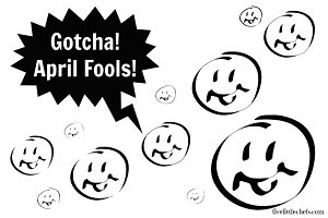 April Fool's Free Printable from fivelittlechefs.com. Print, cut and leave wherever you play your jokes! Don't let confusion happen. #printable