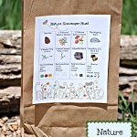 Nature Scavenger Hunt for Kids with a FREE Printable by fivelittlechefs.com. A simple way to turn the outdoors into a fun adventure! #scavenger hunt # kids activities #camping #nature