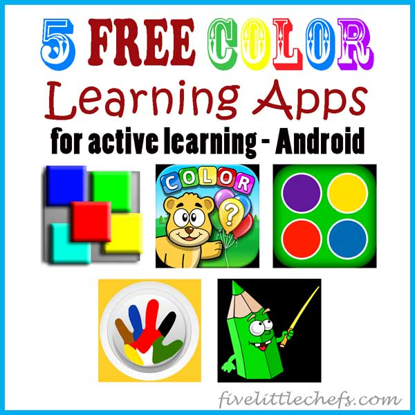 android color apps - learning apps for active learning