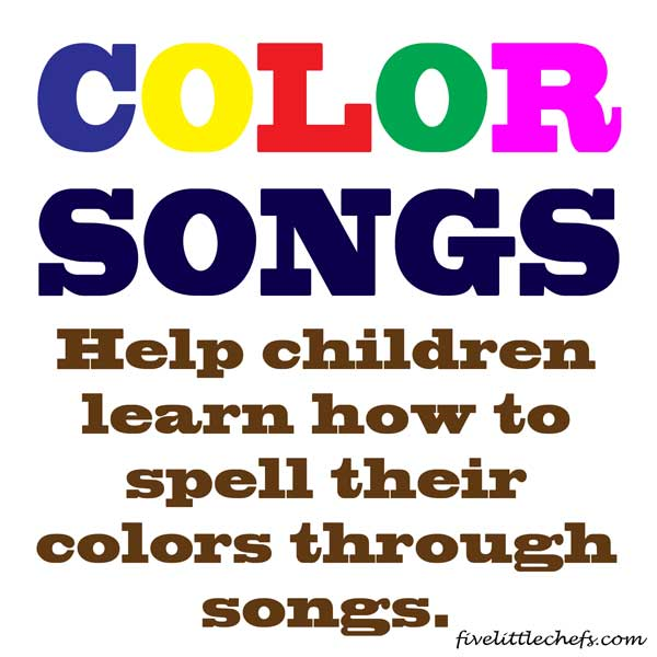 color songs - kids songs