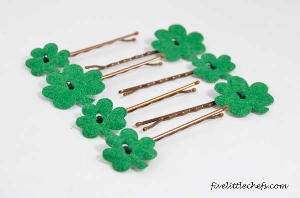 St. Patrick's Day Irish Clover Hair Accessory