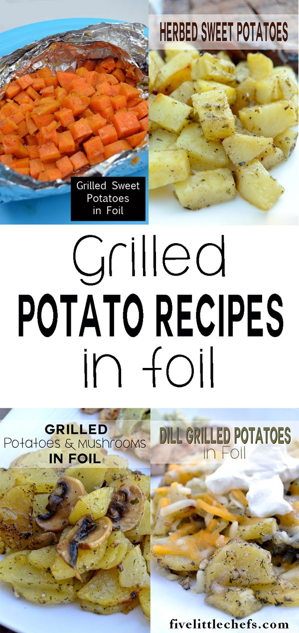 Grilled Potatoes in Foil is perfect for summer. Break out your grill and create this easy recipe.
