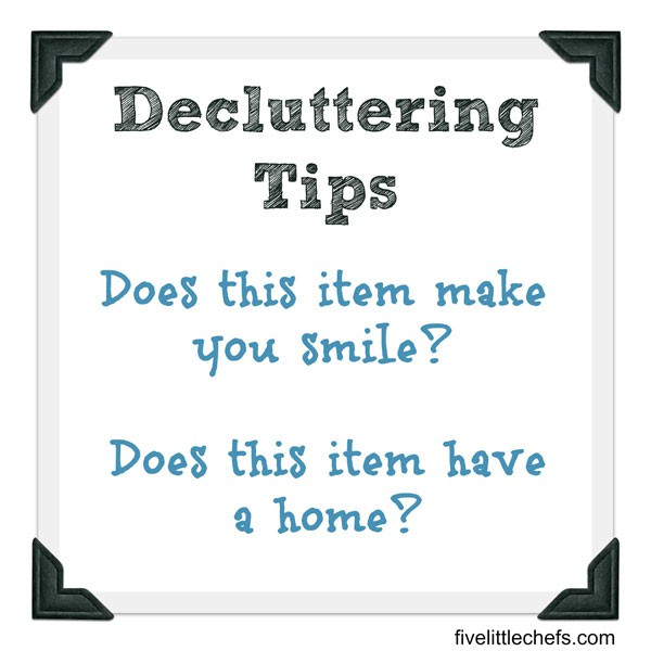 When it is time to declutter ask yourself these two questions. These questions are my favorite decluttering tips.