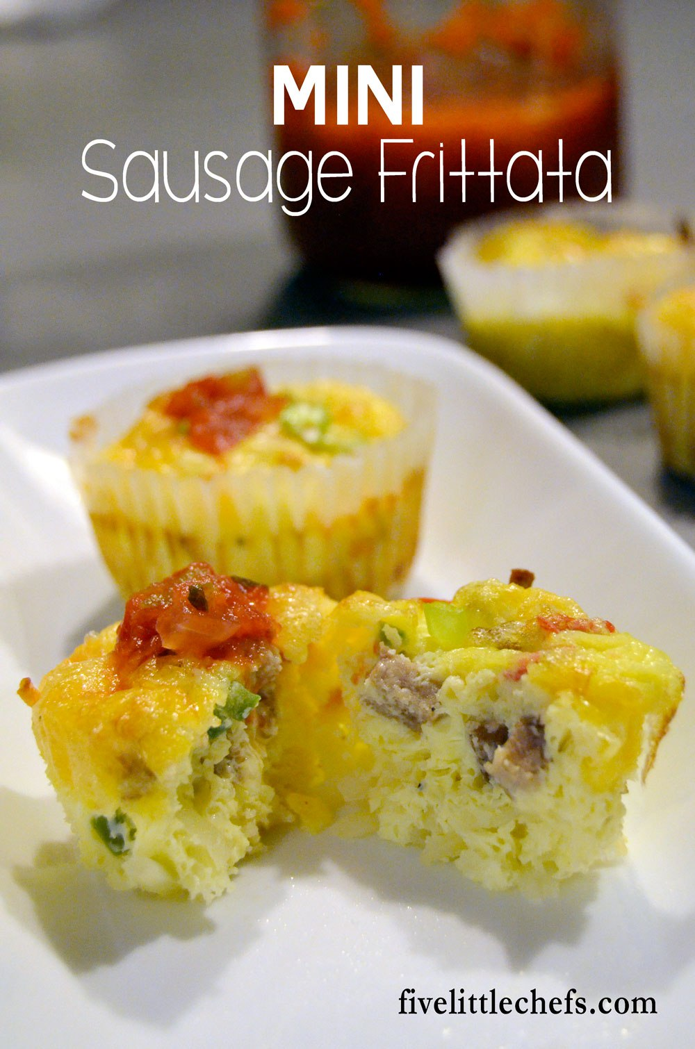 Mini sausage frittata with cheese, hash browns and eggs is one of my favorite breakfast recipes. It would also be great for brunch or the occasional breakfast for dinners.