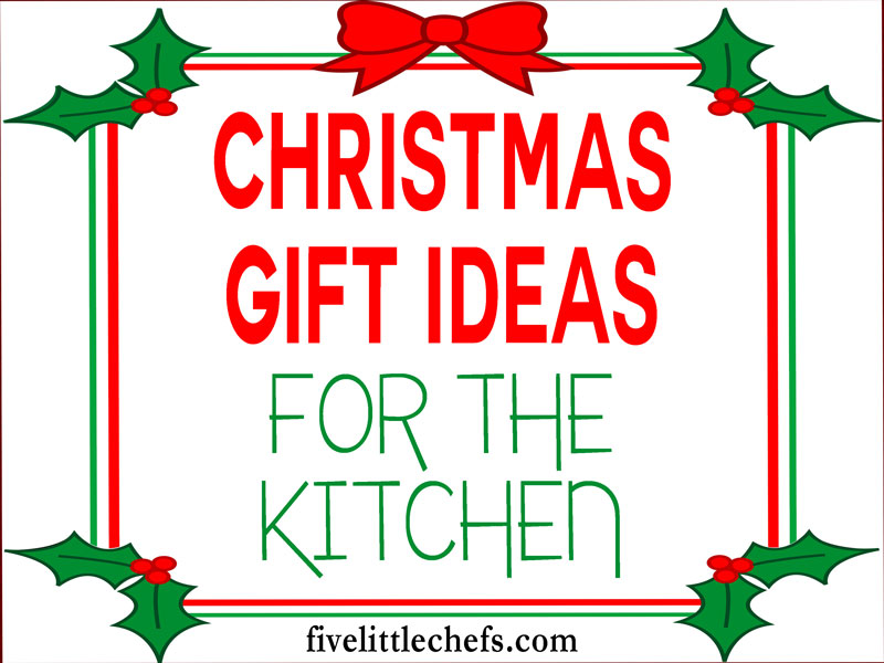 Christmas gift ideas for the kitchen. These are simple time saving gifts to help anyone who loves to cook.