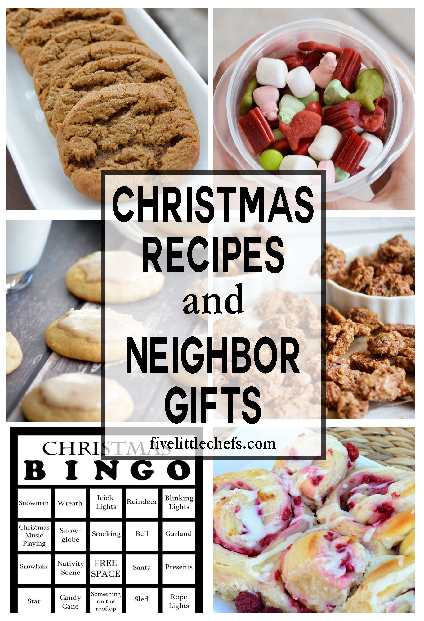 Christmas Recipes and Christmas Neighbor Gift Ideas