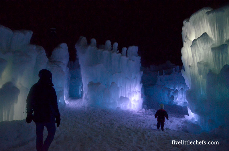Ice Castles in Midway, Utah are spectacular. This is one destination my family of all ages looks forward to visiting each winter. Throne, tunnels, ice slide and more!