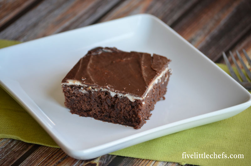 Orange cream frosting and chocolate icing added on top of a boxed brownie mix will elevate your dessert. These homemade recipes are easy to make. Besides orange zest you probably have everything in your pantry.