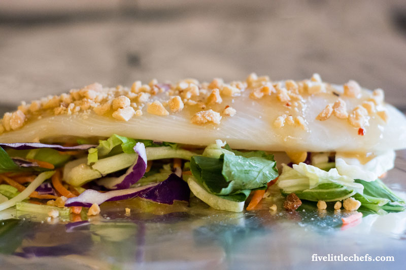 Tilapia with Ginger Bok Choy - a super quick and easy dinner recipe that takes minutes to prepare.